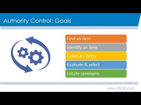 Authority Control: What it Means and Why You Need It