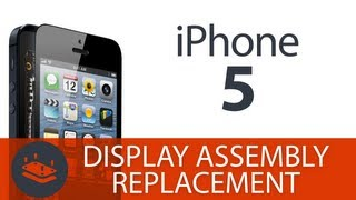how to replace the screen on the iphone 5 display assembly lcd digitizer