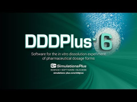 DDDPlus™ 6: Software for the in vitro Dissolution Experiment of Pharmaceutical Dosage Forms