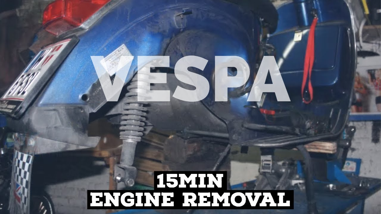 15min vespa px engine removal service fmpguides. Black Bedroom Furniture Sets. Home Design Ideas