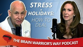 Stress + Holidays: How to Deal - The Brain Warrior's Way Podcast