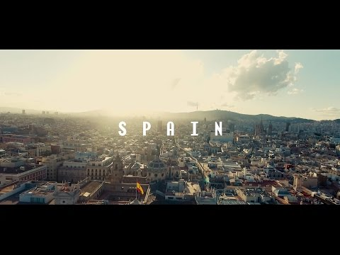Spain: Barcelona to Valencia || Phantom 4 Drone | 4K Video | Vilius & Erika