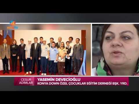 KonTV Cesur Adımlar Programı - 31 Aralık 2015 - Gökcem Derneği Yasemin Devecioğlu Röportaj