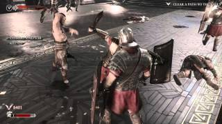 Ryse: Son of Rome 4K capture PC gameplay