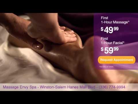 Massage Envy Spa - Winston-Salem Hanes Mall Blvd National Branding