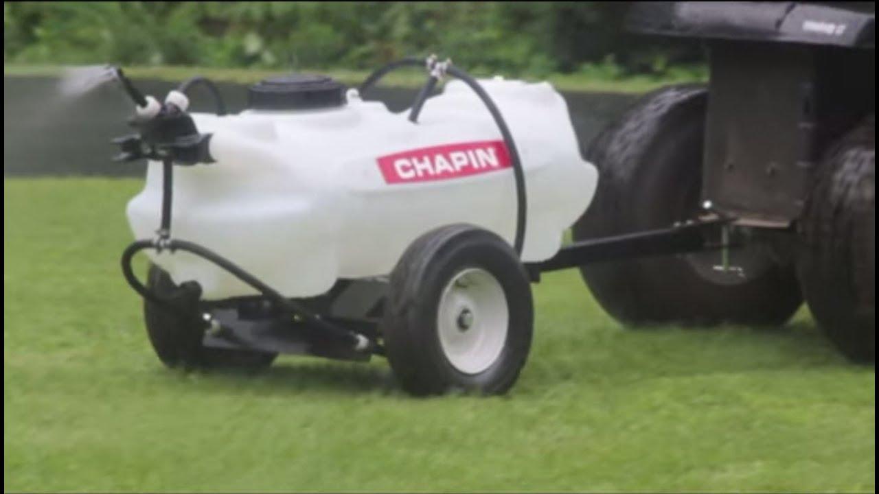 Chapin Ground-Driven Tow Sprayer - 15-Gallon Capacity, 40 PSI, Model# 97650