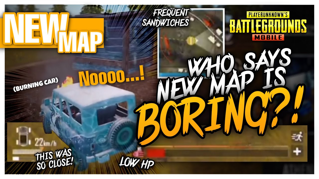 WHO SAYING NEW MAP IS BORING?! - PUBG MOBILE