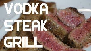Vodka Beef Steak Recipe Grill Or Bbq - Boozy Beef