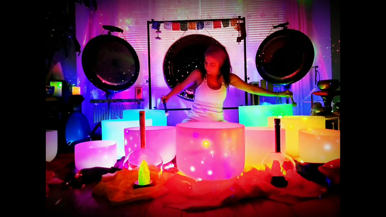 Crystal Bowls Sound Healing Therapy
