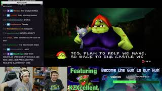 AuGuHuhst is too big to fail! Banjo Tooie live Playthrough!! (Part 1/2)