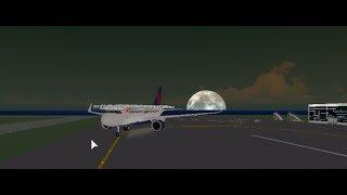Delta Air Lines,A319 Flight! [ROBLOX]
