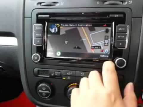 VW RCD 510 UPGRADE GPS FUNCTION