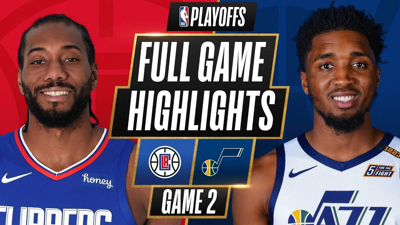 Download #4 CLIPPERS at #1 JAZZ   FULL GAME HIGHLIGHTS   June 10, 2021