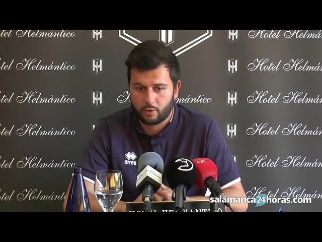 Rueda de prensa de Astu previa al Socuéllamos - Unionistas de playoff