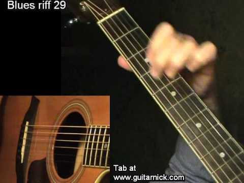 10 MUST LEARN Blues Guitar Riffs - Easy! - YouTube ...