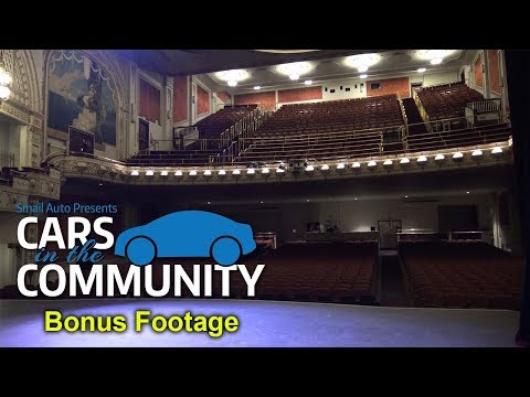 Tour of Historic Palace Theatre - Smail Cars in the Community BONUS FOOTAGE