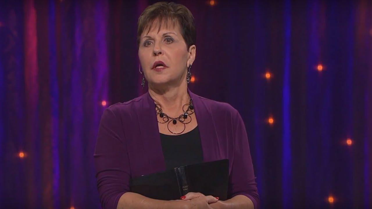 Bırakın Tanrı sizin için savaşsın Bölüm 1 - Joyce Meyer