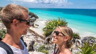 Mexiko Roadtrip beginnt - Maya Ruinen Tulum - Weltreise | VLOG #267