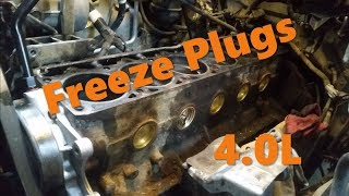 Jeep Freeze Plug Replacement