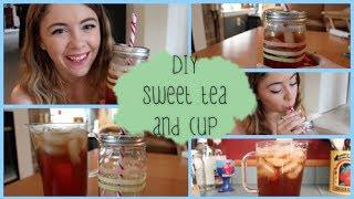 Diy Sweet Tea & Mason Jar Travel Cup | #diywithpxb