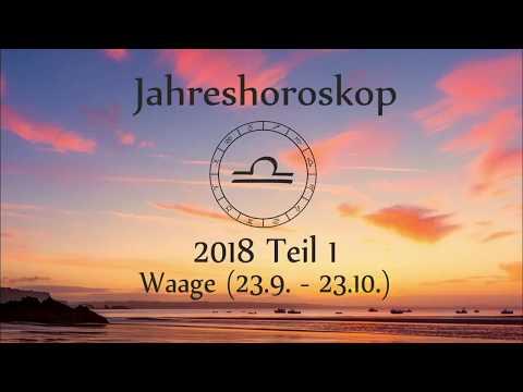 Sternzeichen Waage: Dein Jahreshoroskop 2018 (Teil 1)