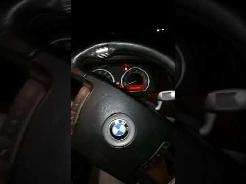 BMW 7 Series dash R N D flashing error codes