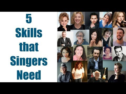 SINGING TEACHERS ANSWER: What Are the 5 Most Critical Skills for Singers to Develop?