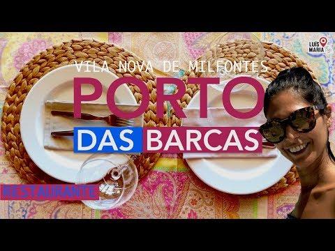 PORTO DAS BARCAS RESTAURANTE | VILA NOVA DE MILFONTES | Fomos visitar !!