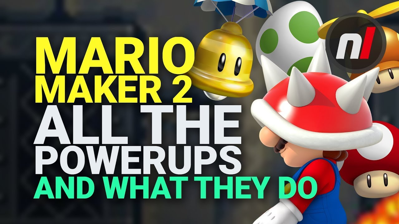How To Use All Power-Ups In Super Mario Maker 2 - Guide