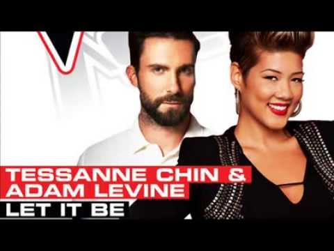 Tessanne Chin & Adam Levine - Let It Be.