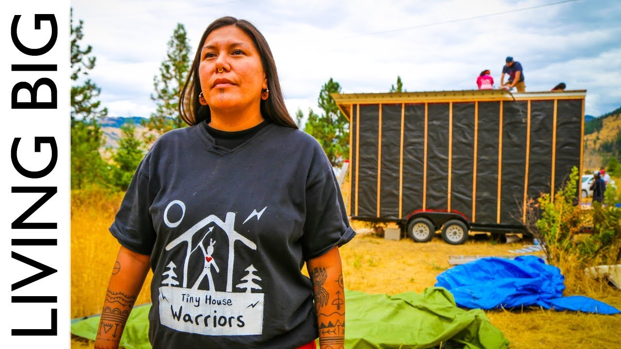 Tiny House Warriors Building Tiny Homes To Defend Against