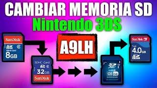 ★CAMBIAR AUMENTAR CLONAR MEMORIA SD★ En consolas con ARM9LOADERHAX