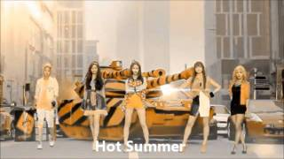 closed audition 에프엑스 f x danger hot summer group collaboration
