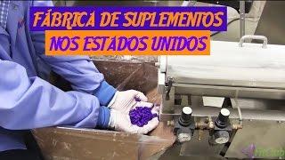 Fábrica de Suplementos nos Estados Unidos