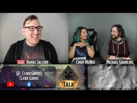 Cleric Talk Live Stream Collateral Damage