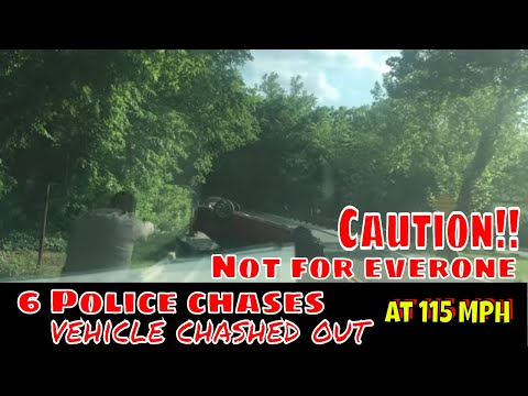 6 High Speed Police Chases You HAVE To SEE