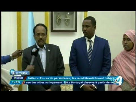 Télé Djibouti Chaine Youtube : JT Somali du 17/10/2017