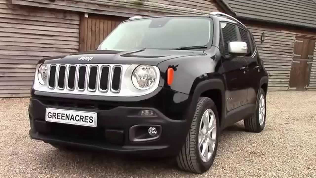 used 2015 2015 jeep renegade 1 6 m jet diesel 120 limited for sale in nottinghamshire youtube. Black Bedroom Furniture Sets. Home Design Ideas