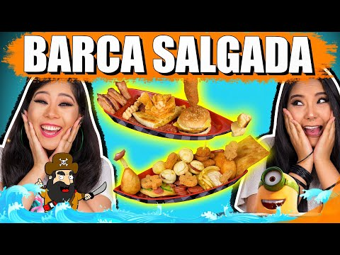BARCA SALGADA CHALLENGE | Blog das irmãs