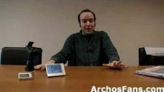 Archos 605 GPS, TV+ Portation, Web TV and Radio and Flash9