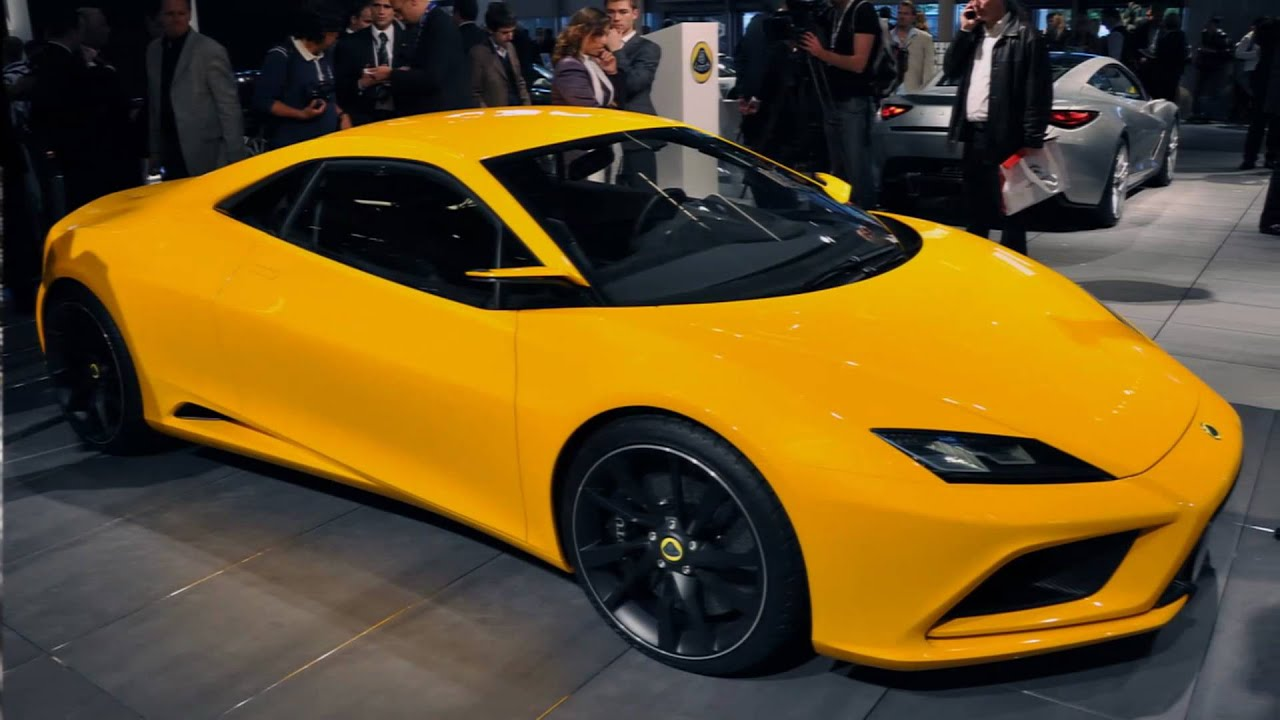 2010 Lotus Elan Concept (2010 Paris Motor show) - YouTube