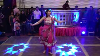 Dance performance by cousins on my brother
