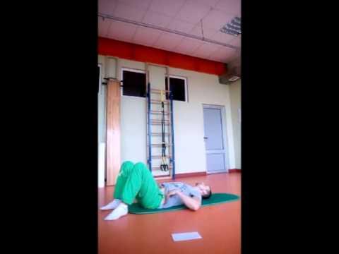 Упражнения при грыже позвоночника - видео комплексы
