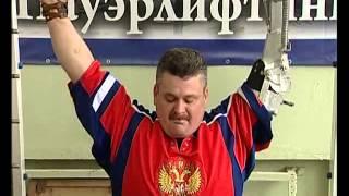 Однорукий штангист из Рыбинска устанавливает рекорды
