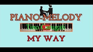 "Piano-melody: ""My way"""