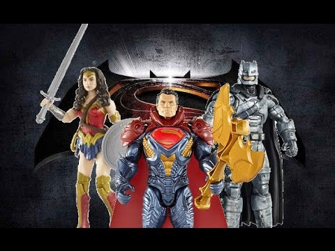 BvS Toys (Armored Batman, Epic Battle Superman, Wonder Woman)