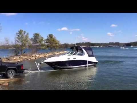 26 foot sea ray sundancer launch youtube