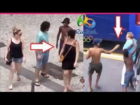 Thieves Targeting Tourists At Rio Olympic 2016 In Brazil