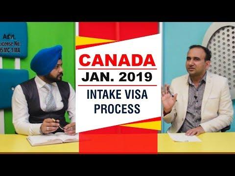 Canada Jan. 2019 INTAKE Visa Process
