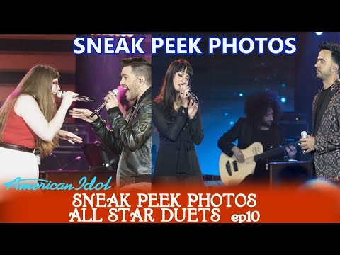 American Idol 2018 Sneak Peek Photos All Star /Celebrity Duets TOP 24 (First 12) AI 2018 spoilers